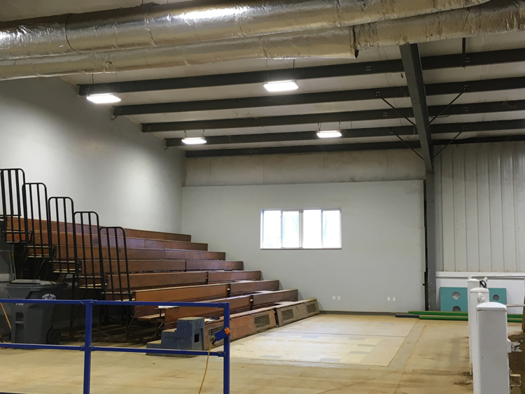 Expandable Bleacher Seating