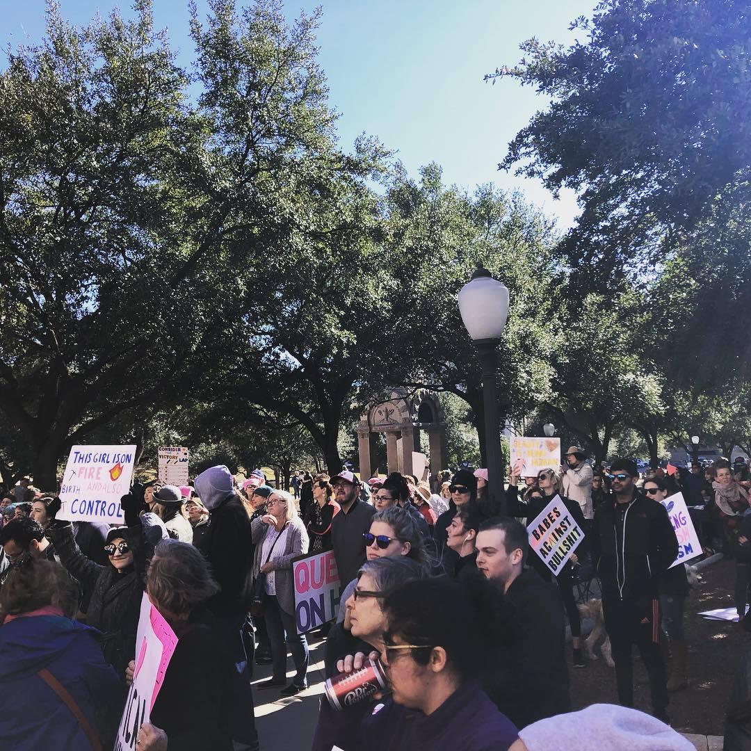 Austin Women's Rally - January 2019