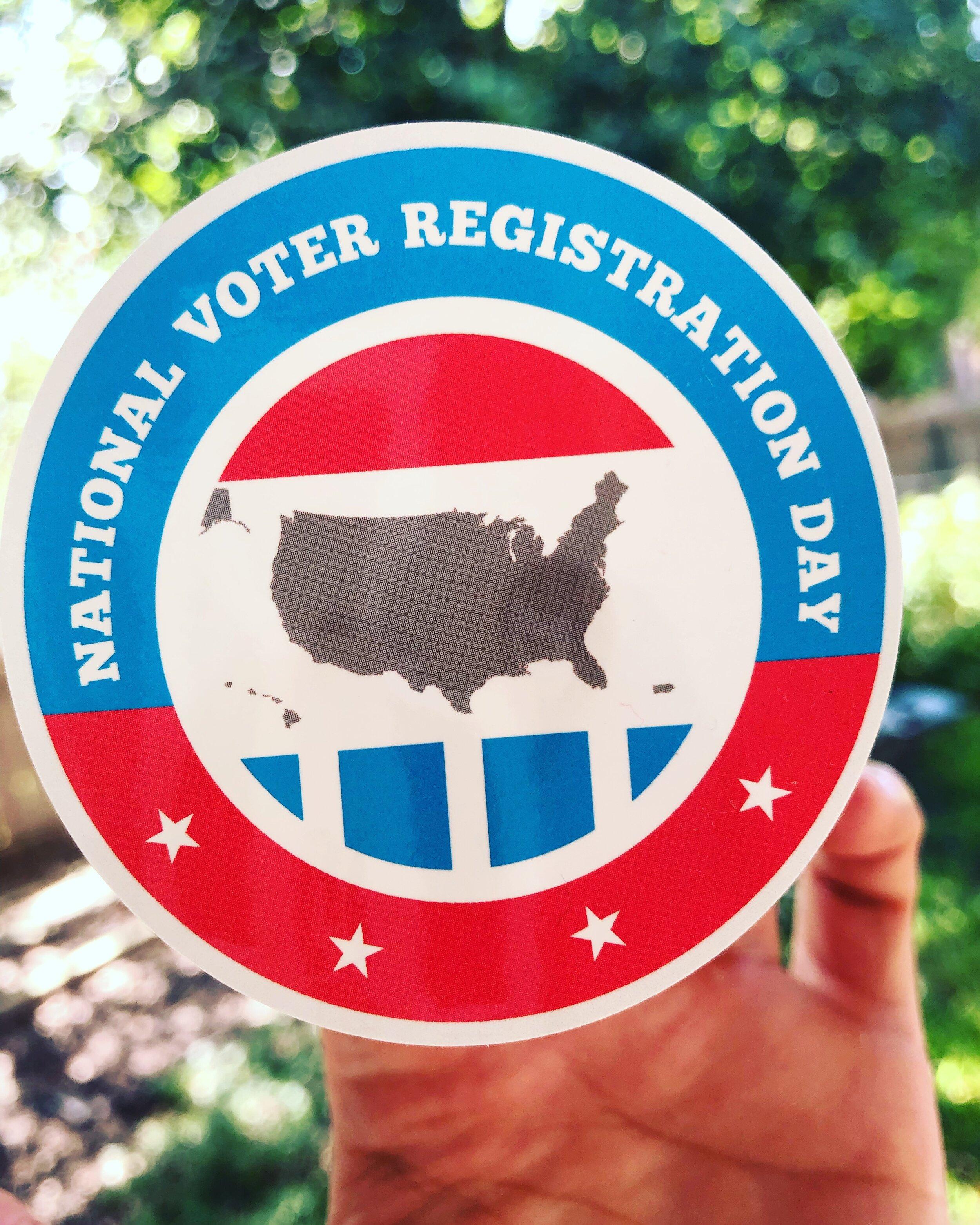 National Voter Registration Day / September 24, 2019