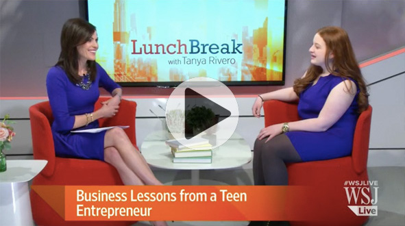 THE WALL STREET JOURNAL Business Lessons from a Teen Entrepreneur - At age 12, Noa Mintz founded the New York babysitting agency Nannies by Noa. The company...