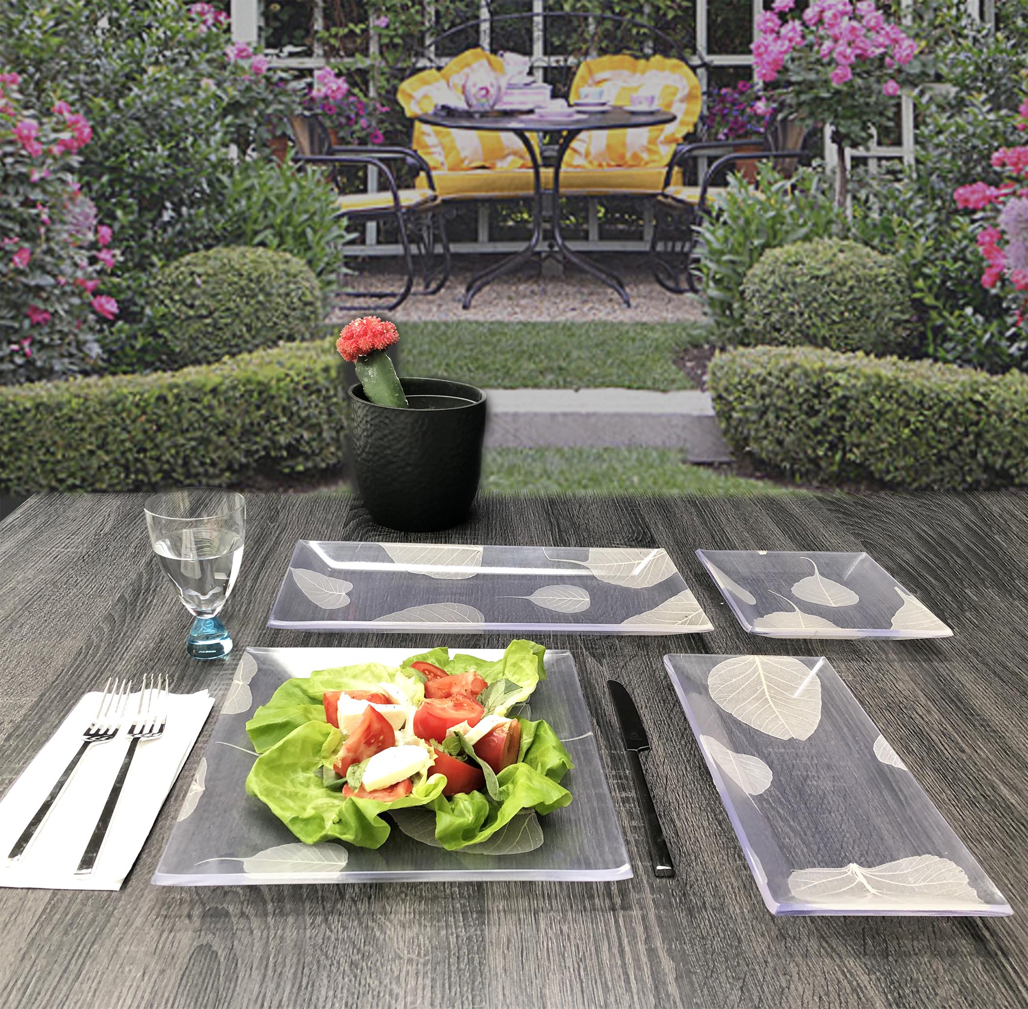 BLossom™, ensemble d'assiettes de la collection Zen & Garden