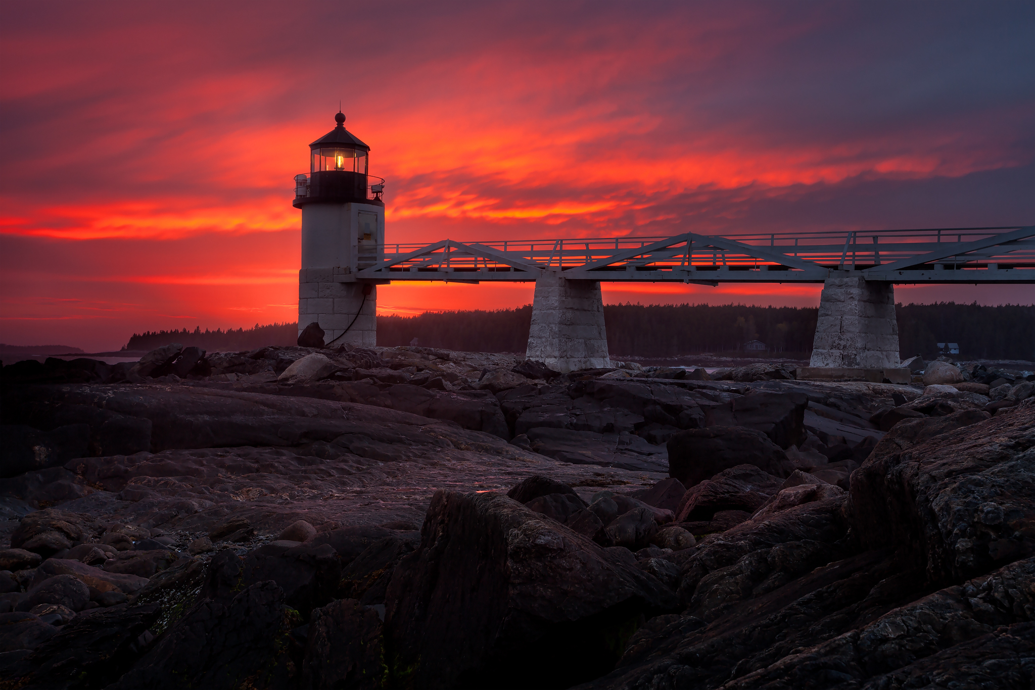 Maine Landscape Photography Workshop Marshall Point Lighthouse 2