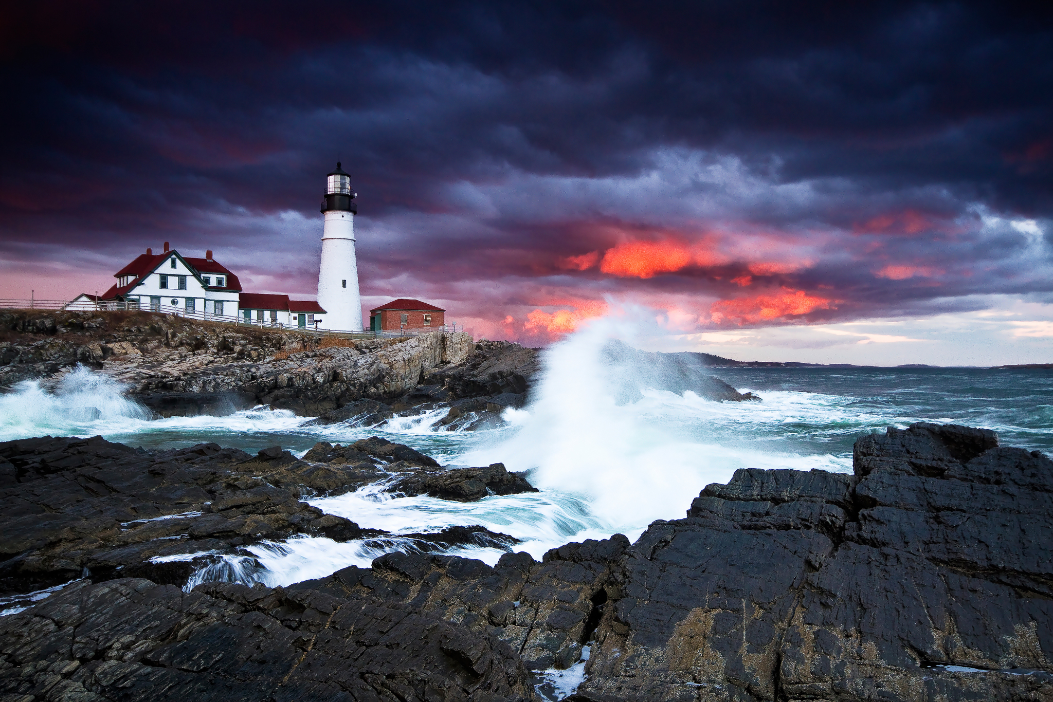 Maine Landscape Photography Workshop Portland Head Light