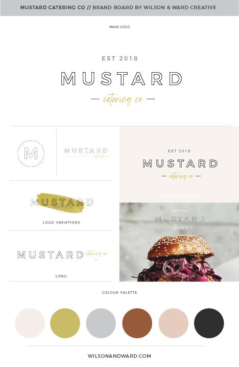 MUSTARD CATERING - BRAND BOARD.jpg