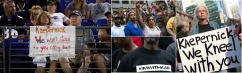 Kaepernick Protests Spark Debate and Fake News