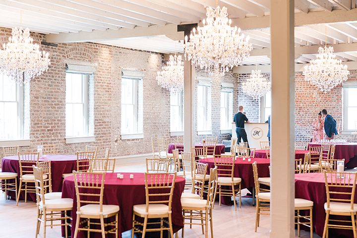 Lowcountry food and drinks at Charleston's newest event venue, Merchants Hall.