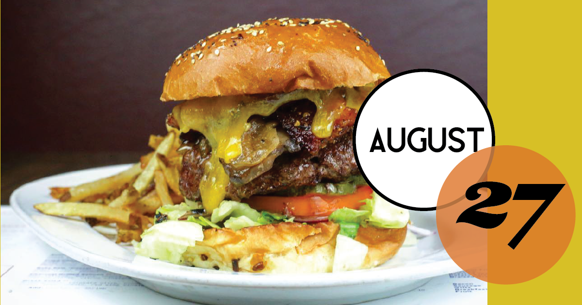 $5 burger at Rutledge Cab Company.