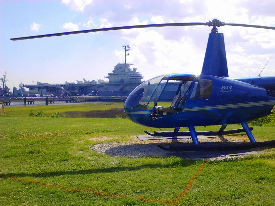 After you've worn out some shoe leather walking all over Charleston, give your feet a break and get a bird's eye view.   Fly in Helicopters   tours take off from Patriots Point daily (weather permitting) at a very affordable price.