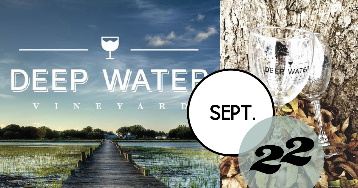Deep Water Vineyards is hosting a wine & chocolate pairing at Deep Water Vineyard on Wadmalaw Island.