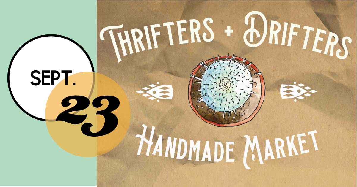 Charleston makers and shakers in one place for the September Thrifters + Drifters Market at the The Royal American.