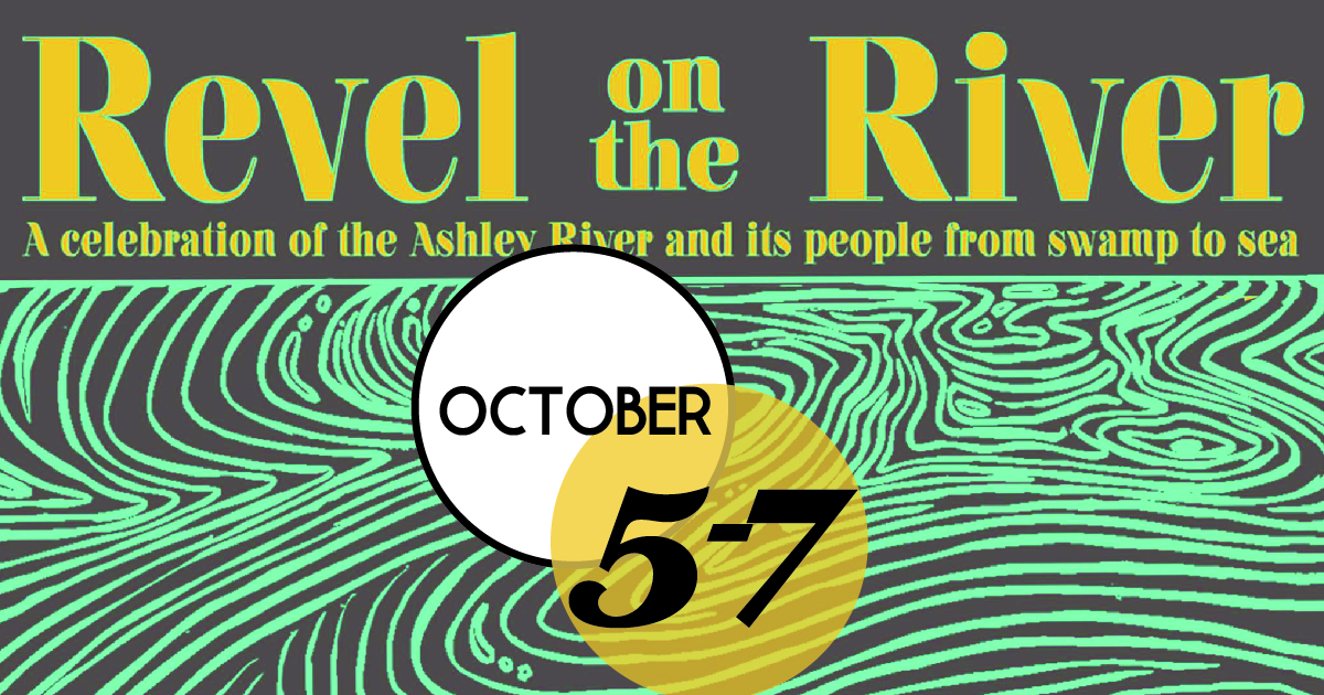 Revel on the River is centered around The Bend on the Ashley River and features music, fly fishing instruction, birding, paddling, cleanups, educational programs, a film, history, food, and beers from Charleston's finest breweries.