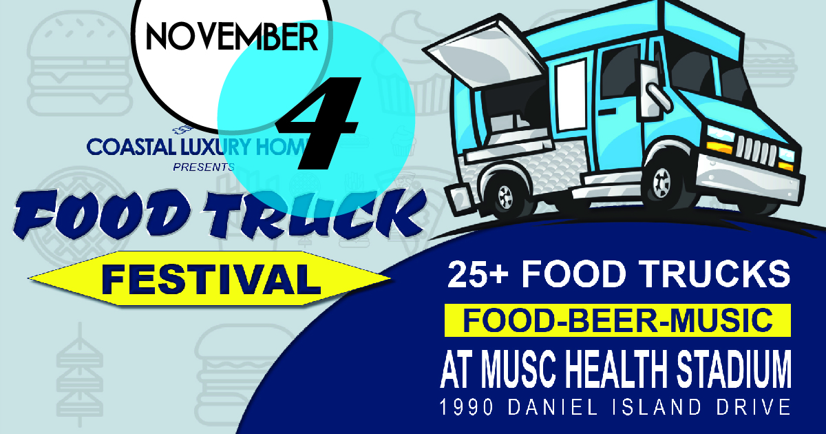 The Charleston Battery's Food Truck Festival at MUSC Health Stadium will feature Beer, Food Trucks and Football on our 3,000 square foot JUMBOTRON!