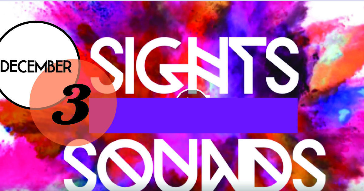 Sights and Sounds (Presented by City on Down) is a festival-themed event with a full lighting production, extravagant interior decorations and live performances from City on Down and DJ Arenaissance.