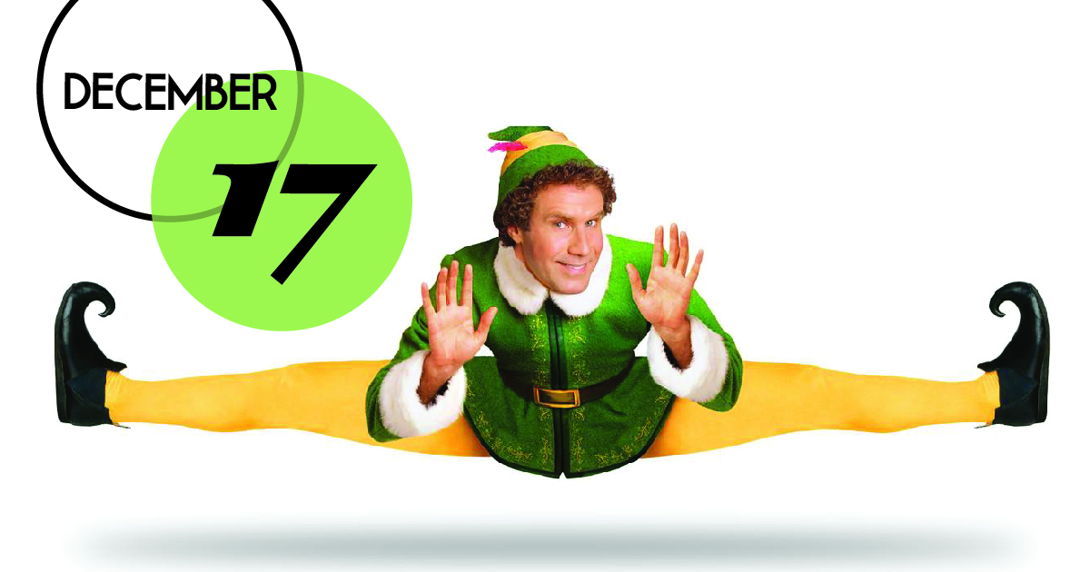 Charleston Music Hall is hosting the movie Elf as part of their CMH Holiday Film Series this year.
