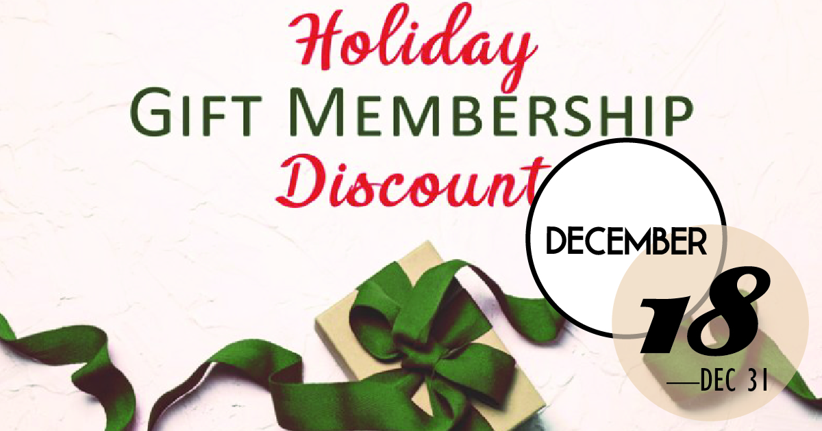 Just in time for holiday giving, save 20% on NEW Middleton Place Foundation memberships through December 31, 2018. Give the gift of history while supporting the Middleton Place Foundation's mission to preserve and interpret history for future generations.