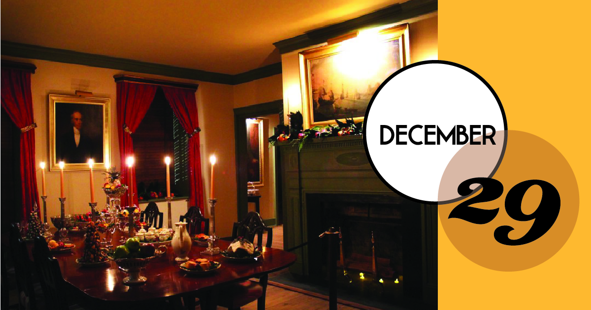 Enjoy a candlelight visit to the Middleton Place House Museum and then stroll over to the Middleton Place Restaurant for dinner. Guests will take a self-guided tour of the House Museum decorated for the holidays with guides stationed in each room. The menu at the Restaurant will include dishes inspired by Sarah Rutledge's The Carolina Housewife, a cookbook published in 1847 that includes many recipes popular in the early 19th century.