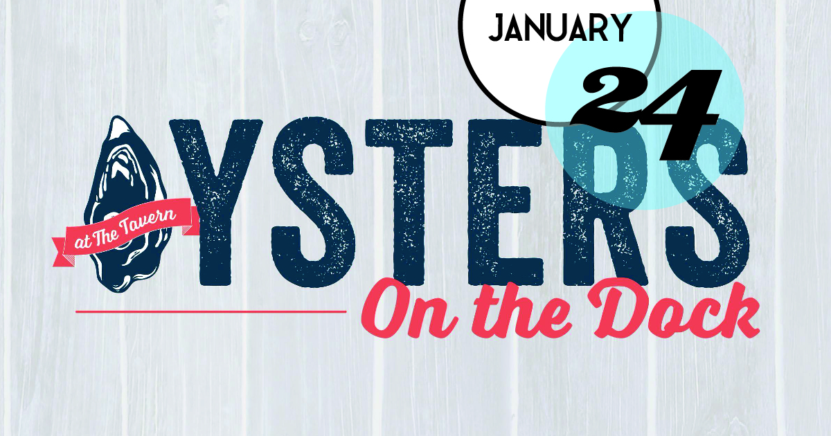 Join Tavern & Table on Shem Creek in Mount Pleasant for an Oyster Roast down on the dock, Bring your friends and appetite for $2 select raw oysters on the half shell, $18 big buckets of steamed oysters and live music on the dock from The Ol 55's.