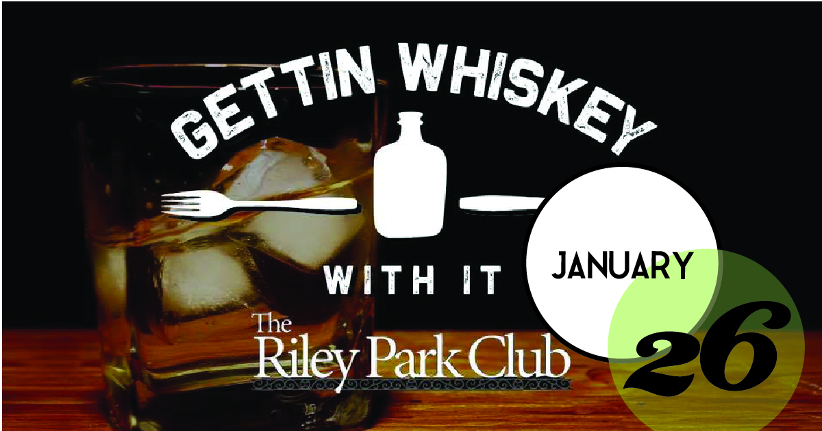 Exclusive Whiskey Dinner, featuring Firefly Bourbon Whiskey, Whiskey Jam Whiskey and food pairings by Mercantile & Mash at the Riley Park Club at Riverdogs Stadium.