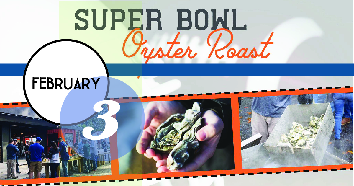 Oyster Roast at Container Bar, Sunday, February 3 from 1-4pm for the Super Bowl!