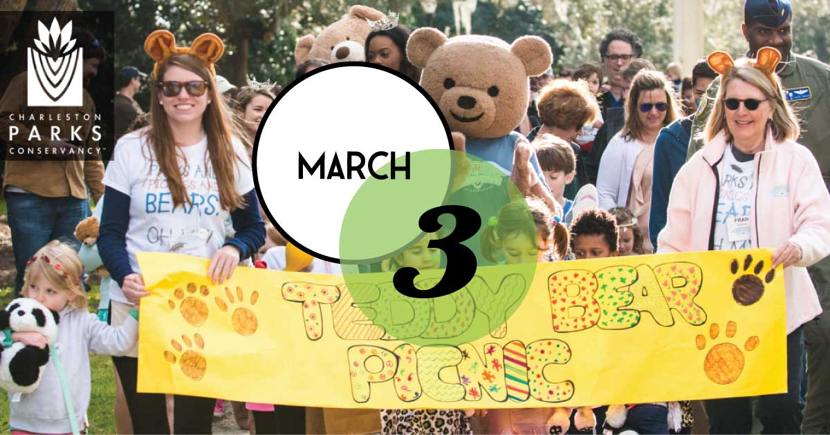 10th Teddy Bear Picnic is scheduled for March 3, 2019 in Hampton Park.