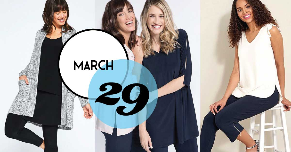 Join Holly & Brooks at Freshfields Village on Kiawah Island for an exclusive Wardrobe Seminar & Fashion Show on Friday, March 29. Sip and snack while you browse the new Sympli Spring Collection and learn wardrobe style techniques from Sympli expert, Denine Mackie.