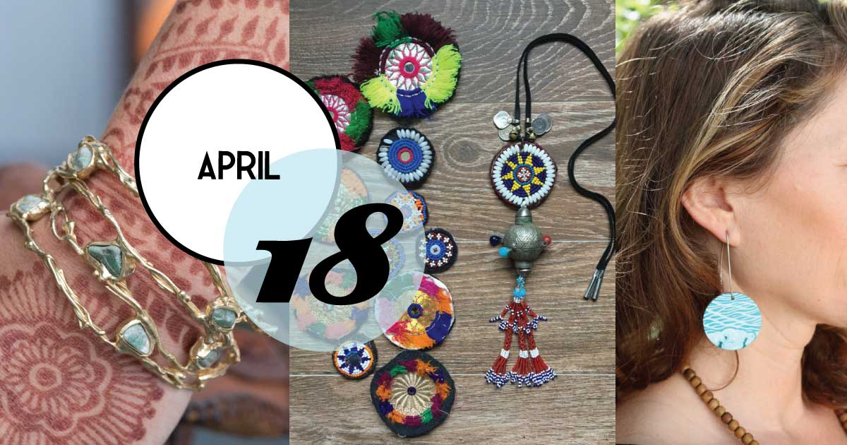 Out of Hand hosts three wonderful artists; Which One? Jewelry, Emilie Shapiro and Meagan Wientjes.