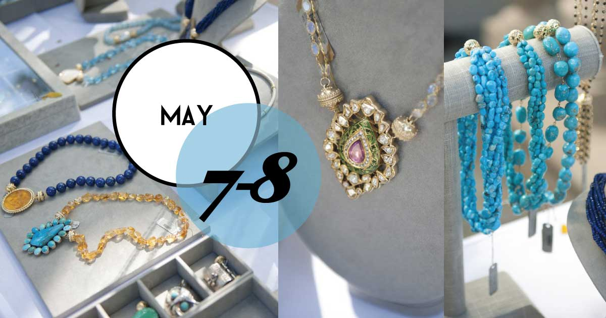 Croghan's Jewel Box host a trunk show of interchangeable necklaces, centerpieces, earrings, and charms from Clara Williams Company.