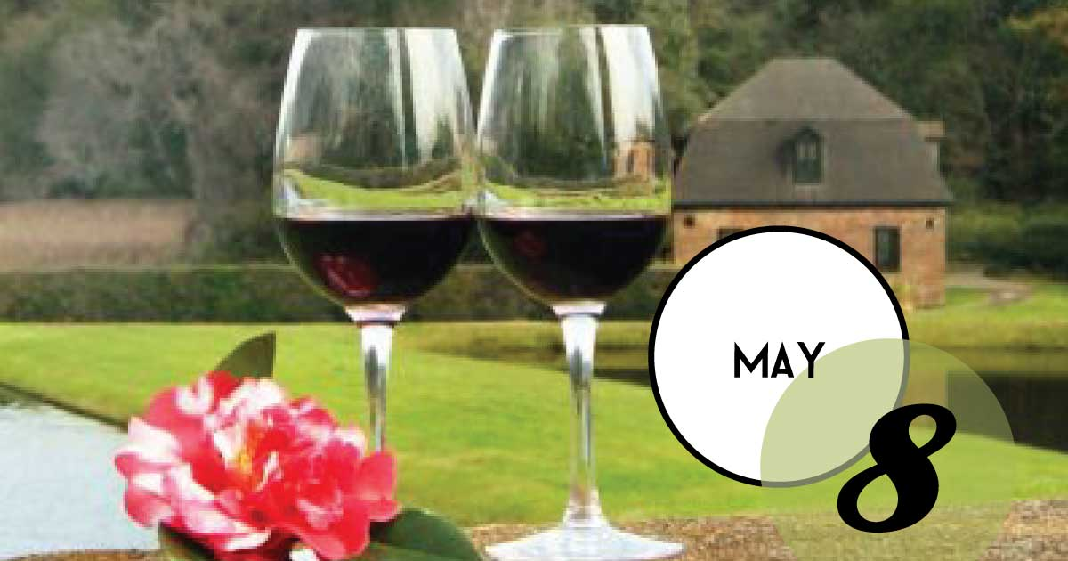 Sip and stroll at Middleton Place, America's oldest landscaped gardens, while sampling old and new world wines. Each Wednesday evening, a different garden location will be paired with a selection of wines for you to sample. Enjoy spectacular views and light snacks between stations.