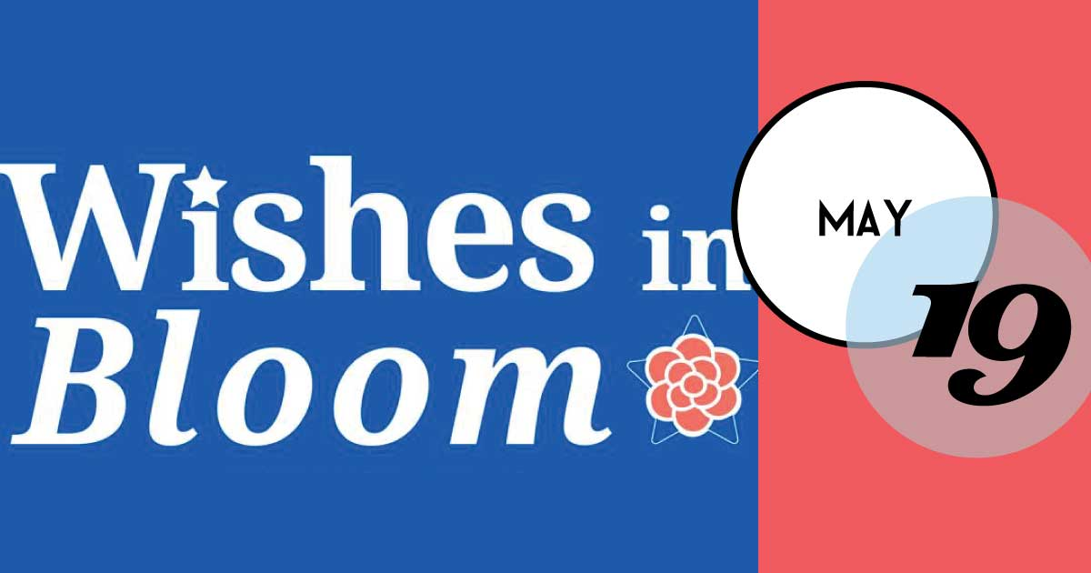 Wishes in Bloom is a one-of-a-kind garden party at Magnolia Plantation & Gardens in Charleston, SC, where the community comes together to open their hearts and help fund wishes while celebrating the strength and healing that comes from a wish granted.