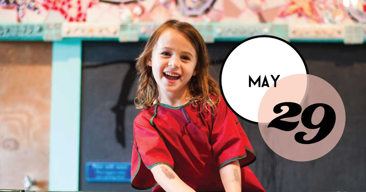 Thanks to Future Scholar 529 College Savings Plan, the Children's Museum of the Lowcountry admission will be $5.29 on Wednesday, May 29, from 9 am - 5 pm.