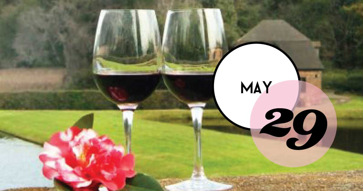 Sip and stroll in America's oldest landscaped gardens, Middleton Place, while sampling old and new world wines. Each Wednesday evening, a different garden location will be paired with a selection of wines for you to sample. Enjoy spectacular views and light snacks between stations.
