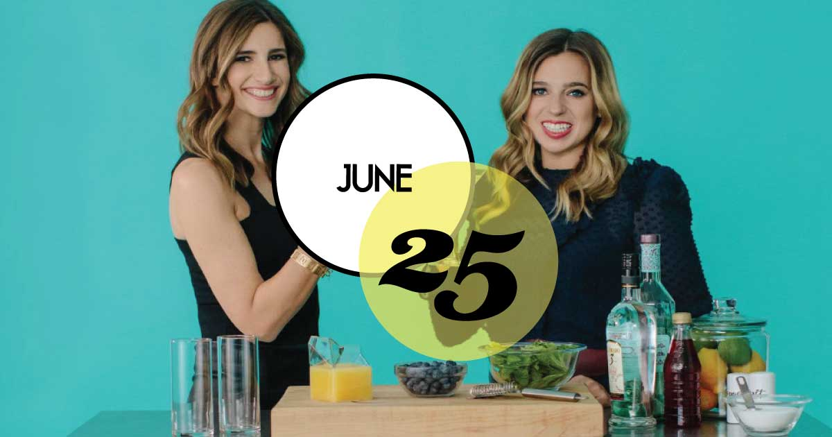 The founders of theSkimm are coming to The Gaillard Center (June 25) for a fun night out, full of empowering conversation, networking, cheersing, and more to celebrate their new book, How to Skimm Your Life.