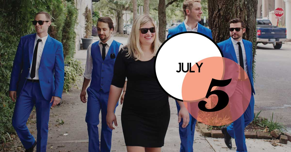 Join us this summer for our Music on the Green series, held Friday evenings from 6 to 9 p.m. on the Village Green. Tonight's concert features The Rising Tide, Charleston's good-time party band!