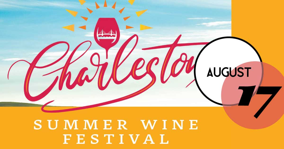 Charleston Wine Festivals hosts the first Charleston Summer Wine Festival at Memminger Auditorium. Tickets include entry, entertainment, souvenir acrylic wine glass, and all wine and beer samples.