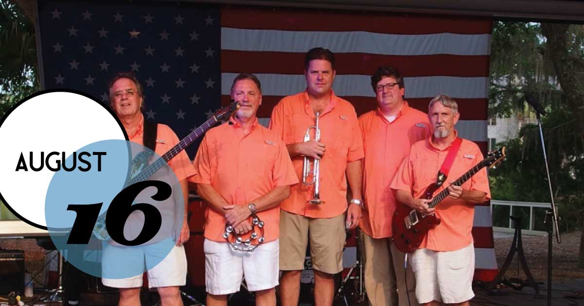 There is always something exciting happening at Freshfields Village. Tonight's Music on the Green concert features the Shem Creek Boogie Band of Charleston, SC. Their extensive set list includes the '60s, '70s, '80s, '90s hits, rock 'n' roll, soul, blues, country, and pop — as well as popular shag music and beach standards.