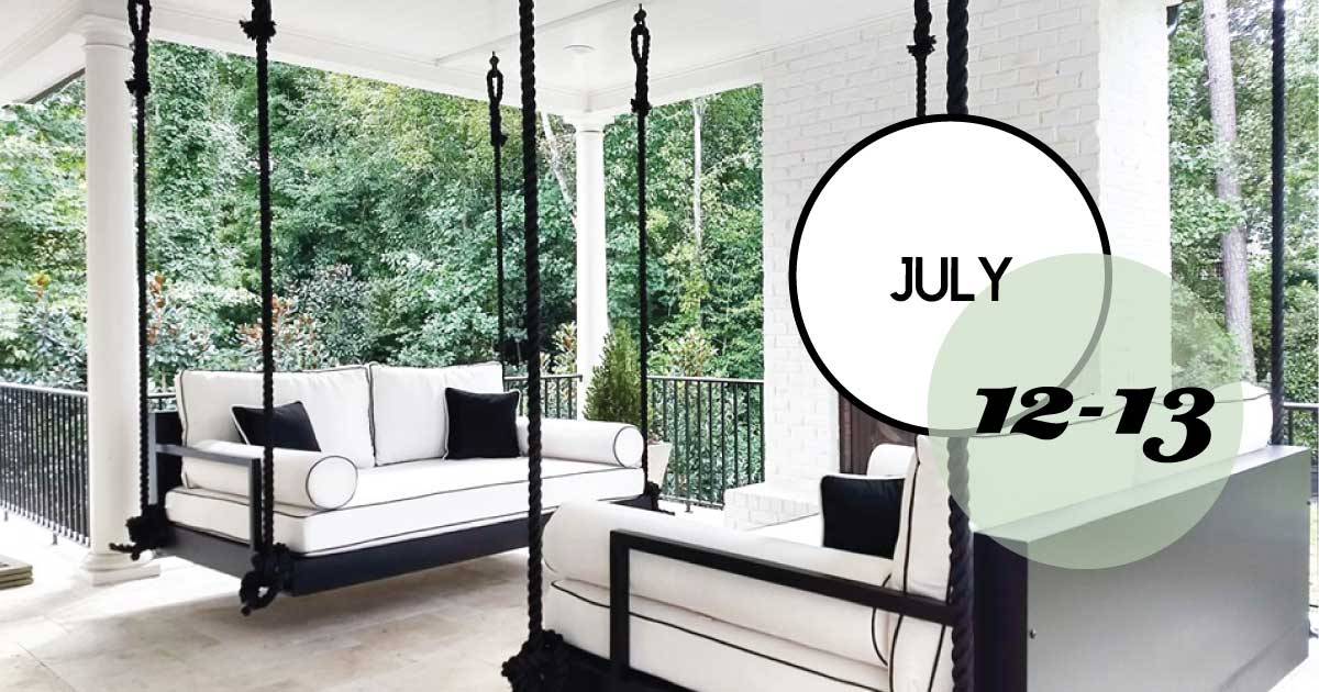Lowcountry Swing Beds Warehouse Sale, July 12 & 13.