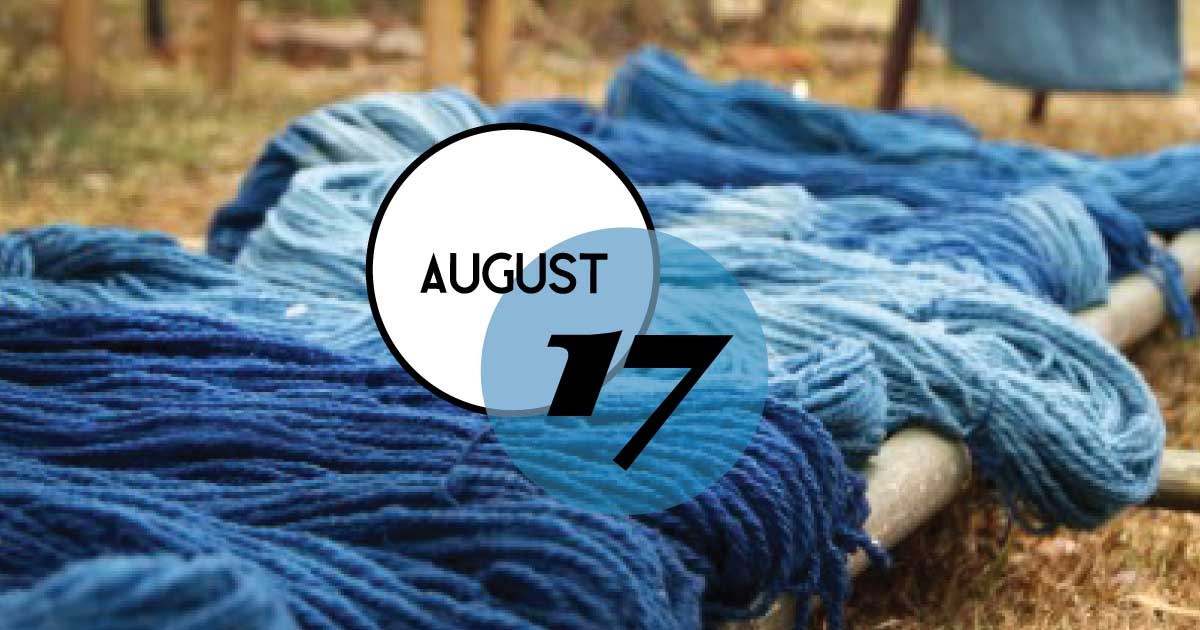 This Indigo Program at Middleton Place will emphasize the many roles that enslaved people performed in the cultivating and processing of Indigo. This crop was a plant that produced a blue dye and was an essential part of South Carolina's 18th-century economy. Also, guests will have the opportunity to use an indigo vat to create their blue-dyed piece of fabric.