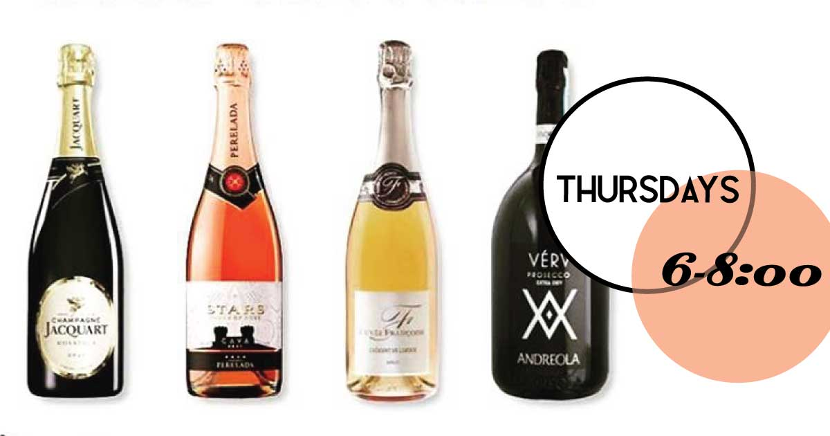 Introducing weekly Thursday Epiphany wine tastings at Rudi's Old Village Wine Shop.