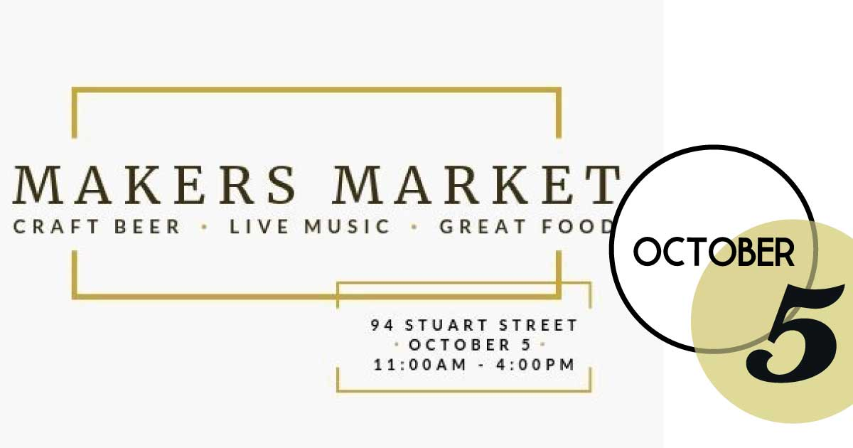 Popup! Makers Market at Baker and Brewer present afternoon of local from fine art to fresh baked goods. Support local for the day!