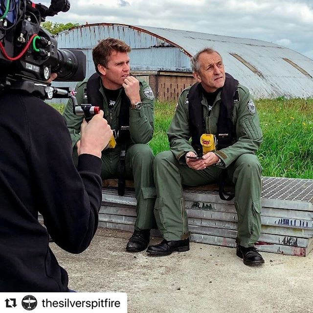 #Repost @thesilverspitfire with @make_repost ・・・ @stampproductions in Devon capturing #LongestFlight training and interviews with expedition pilots @mattjonesspitfire and @stevebrooksspitfire. Exciting things to come...🎥📹 . . . . . . . #documentary #video #film #sonyfs7 #sonycinema #watch #series  #documentaryphotography #filmmaker #travel #inspirational #instagood #life #silverspitfire #longestflight #filming #Spitfire #Aviation #Avgeek