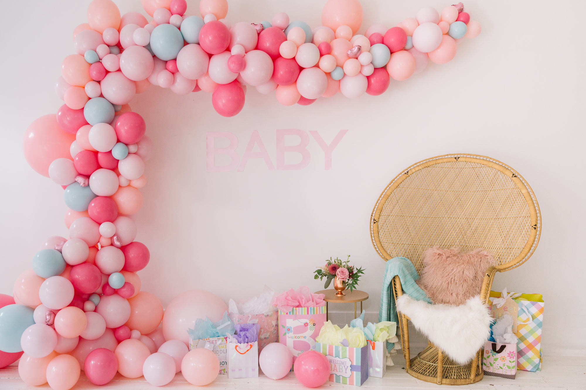 BABY, BUBBLY & BLOOMS - COMING SOON! KC baby shower at Market Studio, July 2018 // Photography: Shanley Cox Creative