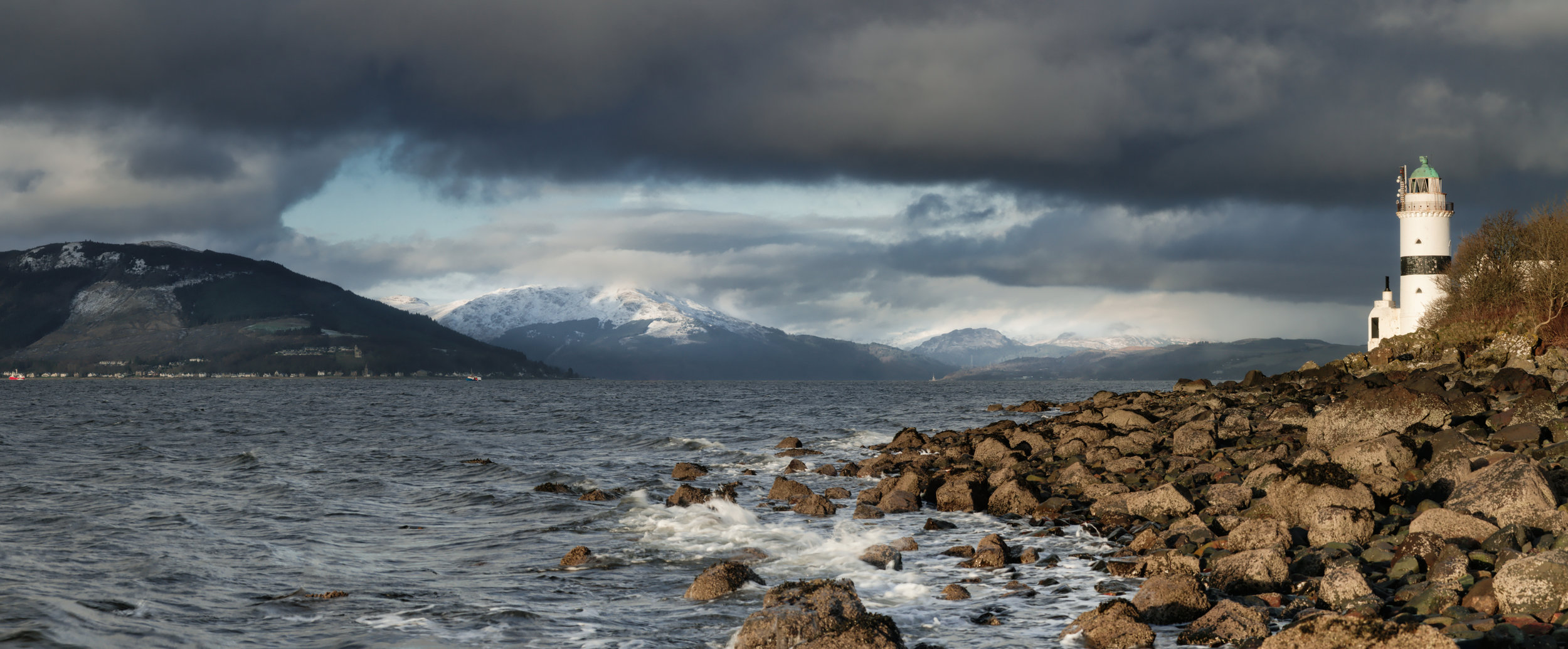 'Argyll from Cloch Point, Panoramic'