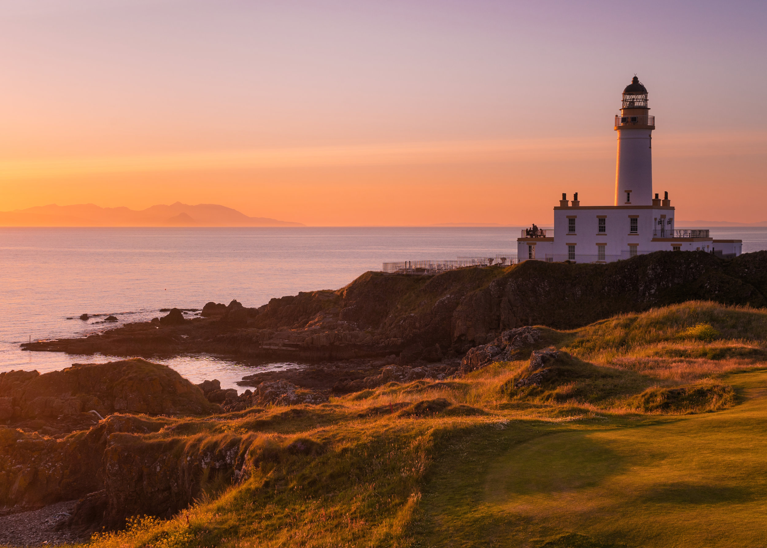 'An Evening at Turnberry Lighthouse'