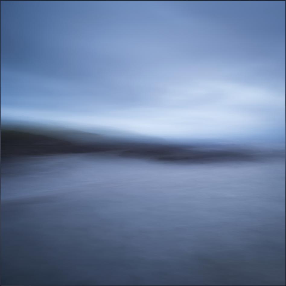 Blue Hour; Near Linear Horizontal Movement; Broad Brush Strokes