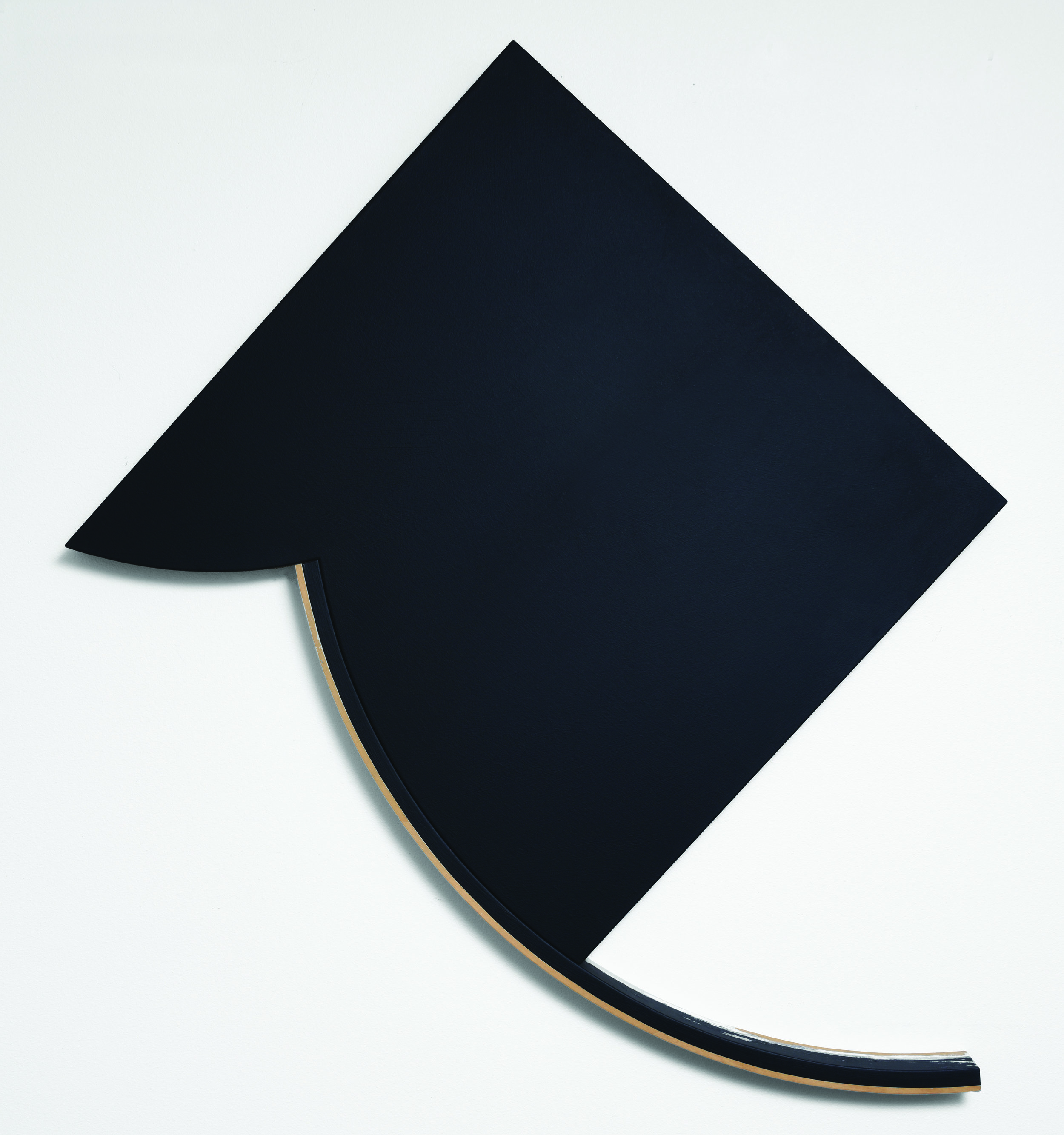 Thauma II, 1986 Wood, acrylic and canvas 69 x 50 x 4 inches Laguna Art Museum, Gift of Mason and Elizabeth Phelps