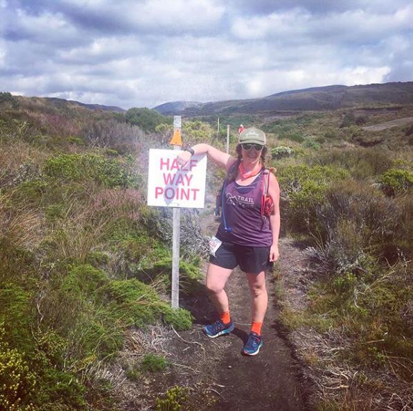 Tussock Traverse, New Zealand - Dr. Amanda Roe, 26 km in New Zealand.