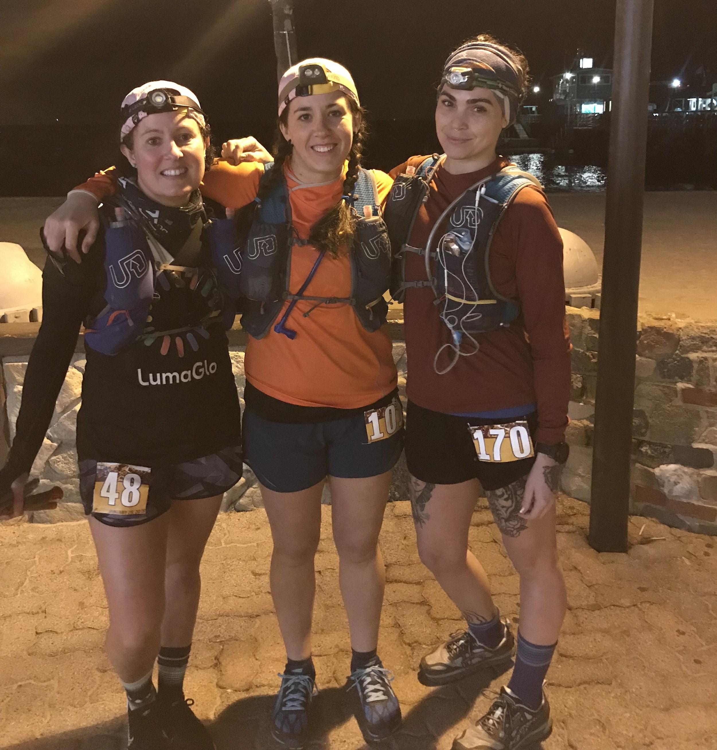 Avalon 50 Mile, Catalina Island - Jay Bowen, Sarah Foote & Sara Pedrosa