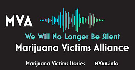 MVA is dedicated to supporting victims harmed by 1) the marijuana industry, 2) marijuana normalization and 3) the promotion of marijuana culture .