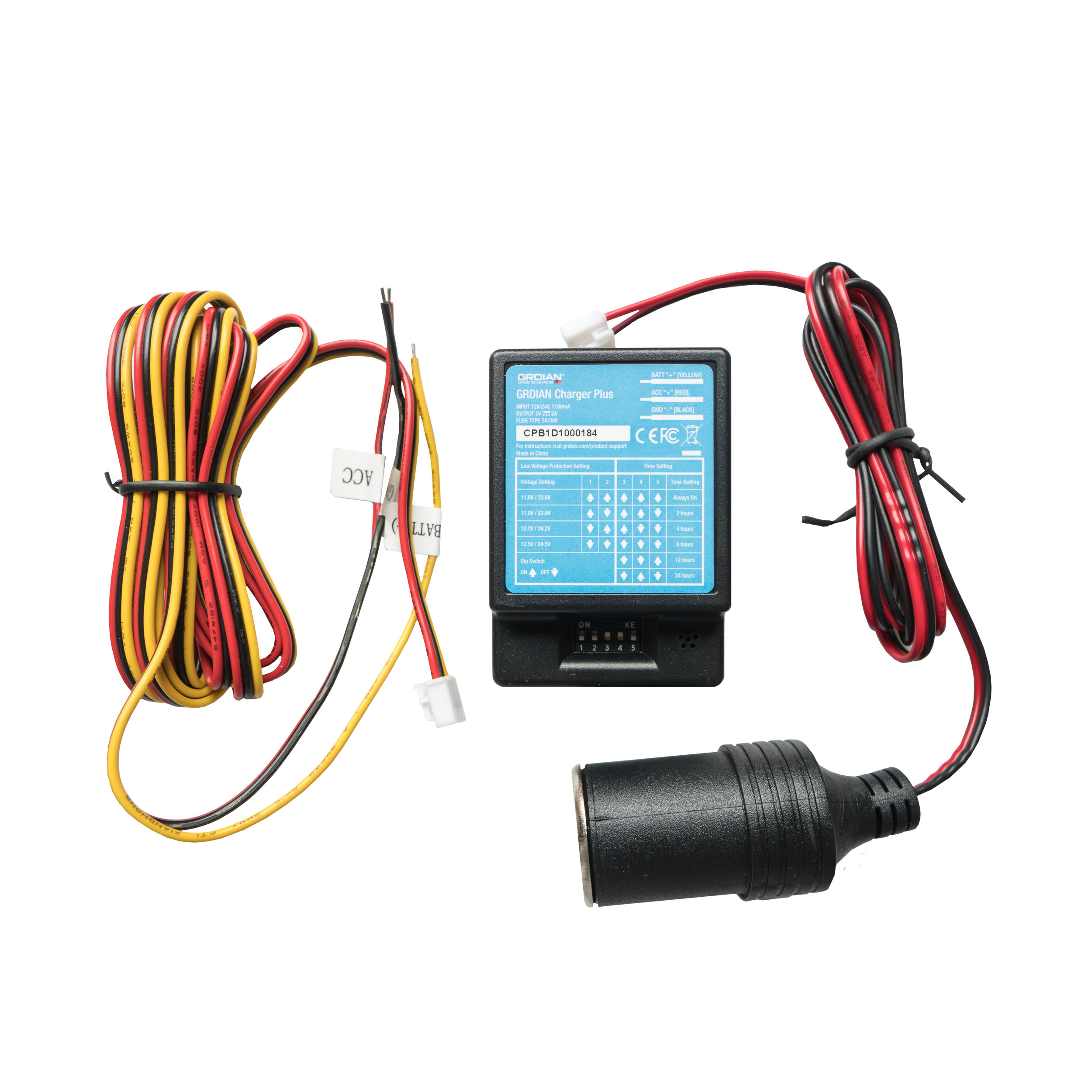 Charger Plus Hardwire Kit - The most advanced hardwire kit in the market