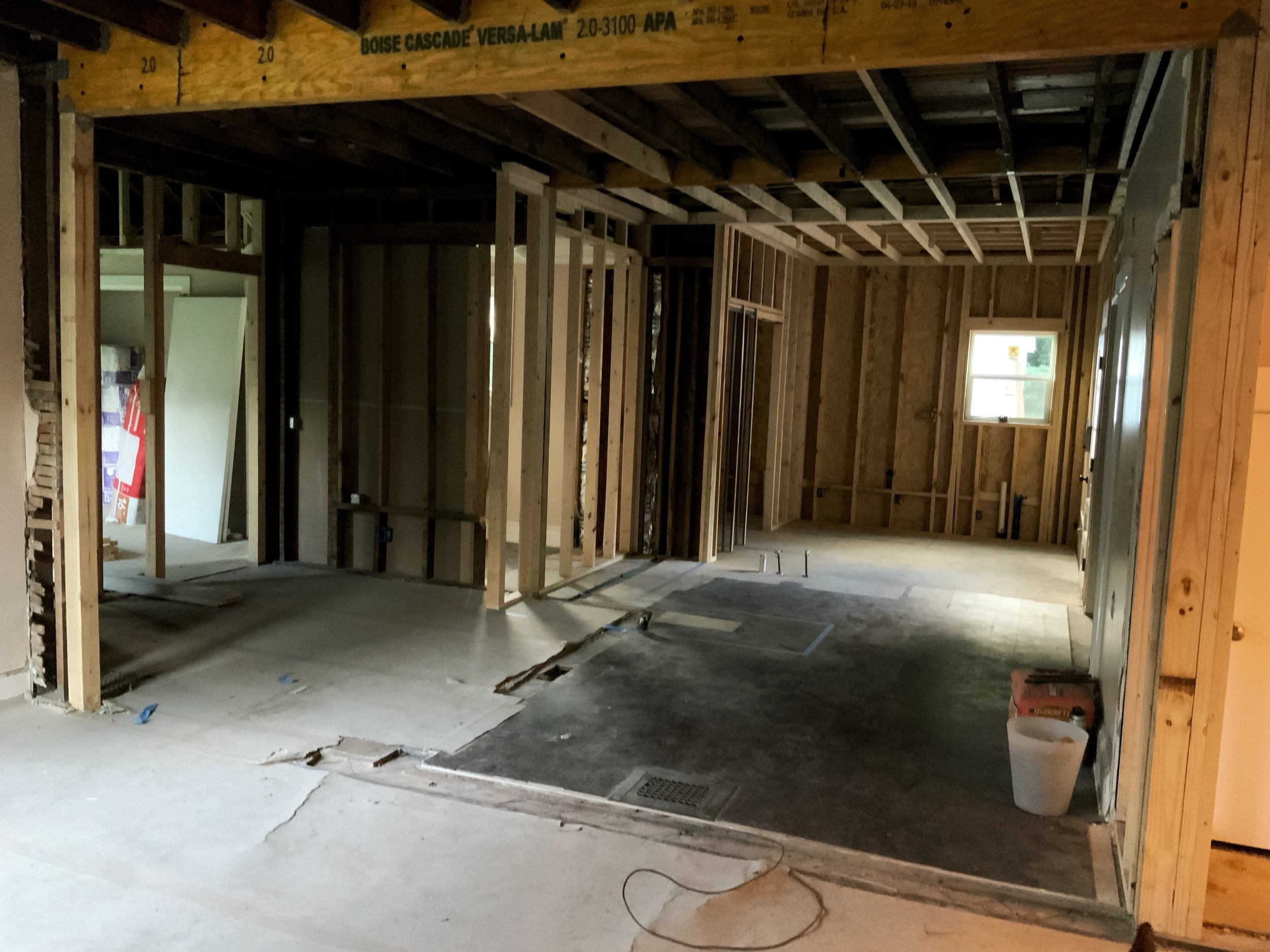 Living Room, Dinning Room, & Kitchen